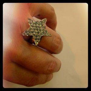 Shiny Star Ring Size 6